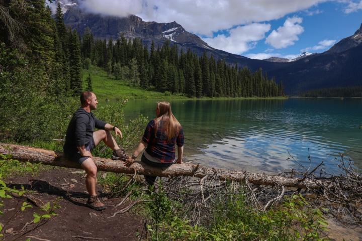 Emerald Lake Instagram Spot