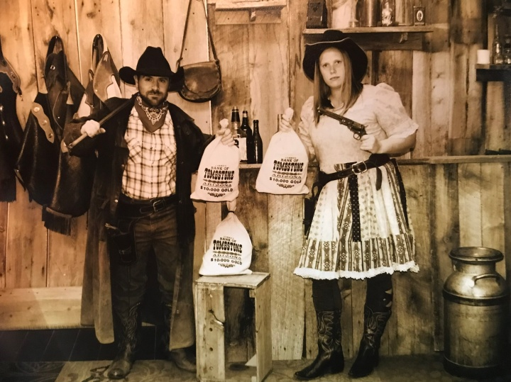 Old Timey Wild West Photo