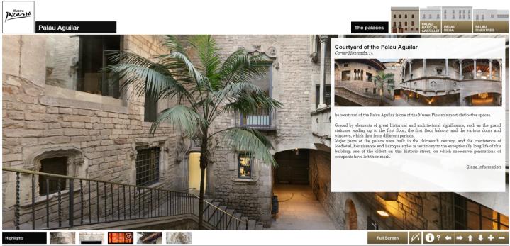 Picasso Museum Virtual Tour